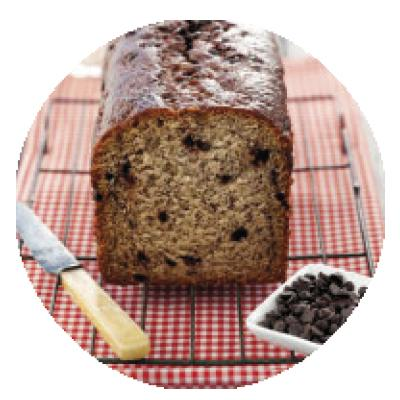 Banana Choc Chip Bread WHOLE 2.2kg (LOAF)