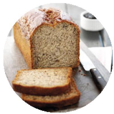 Banana Bread SLICED (12 SLICE/LOAF)