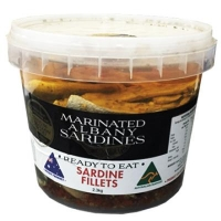 Albany Marinated Sardines (BKT) - Click for more info