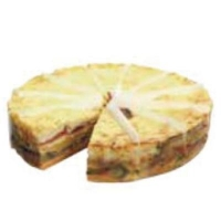 Tortilla Stack w/Oven Rst Vegetables(12 SLICE/BOX) - Click for more info