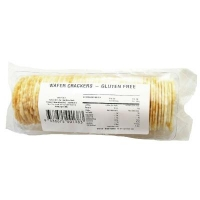 Wafers Plain GLUTEN FREE (24/CTN) - Click for more info