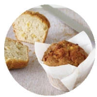 Apple and Cinnamon Muffins (6/TRAY) - Click for more info