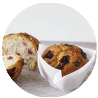 WRAPPED Mixed Berry Muffins (6/TRAY) - Click for more info