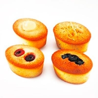 Mixed Friands (12/PACK) - Click for more info