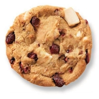 Cranberry White Choc Duo Cookie Dough(156/CTN) - Click for more info